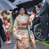 9. November 2018  Prinzessin Akiko in einem traumhaften Gewand.