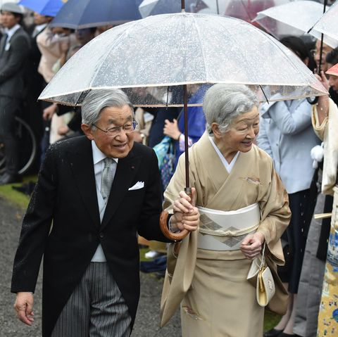 Kaiser Akihito und Kaiserin Michiko danken am 30. April 2019 ab