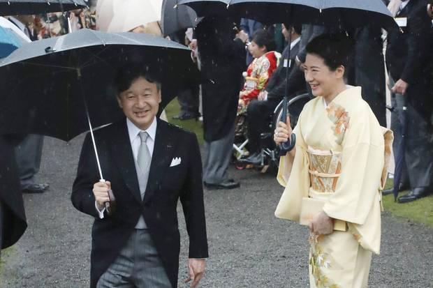 Kronprinz Naruhito und Kronprinzessin Masako werden Akihito und Michiko am 1. Mai 2019 auf den Thron folgen