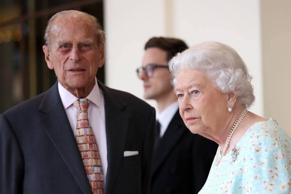 Queen Elizabeth Prinz Philip Sie Schlafen In Getrennten Betten