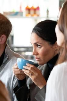 Tea Time für Herzogin Meghan