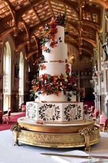 Die Hochzeitstorte von Prinzessin Eugenie und Jack Brooksbank