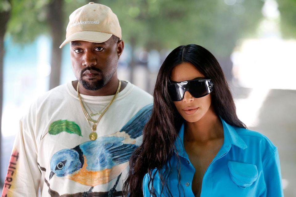 Kim West + Kim Kardashian West