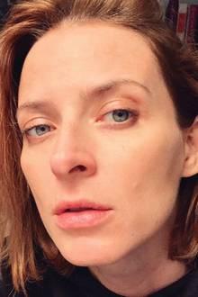 Ihre Schwangerschaft genießt Eva Padberg ganz ohne Make-up. Das braucht sie dank Baby-Glow ja aber auch gar nicht mehr.
