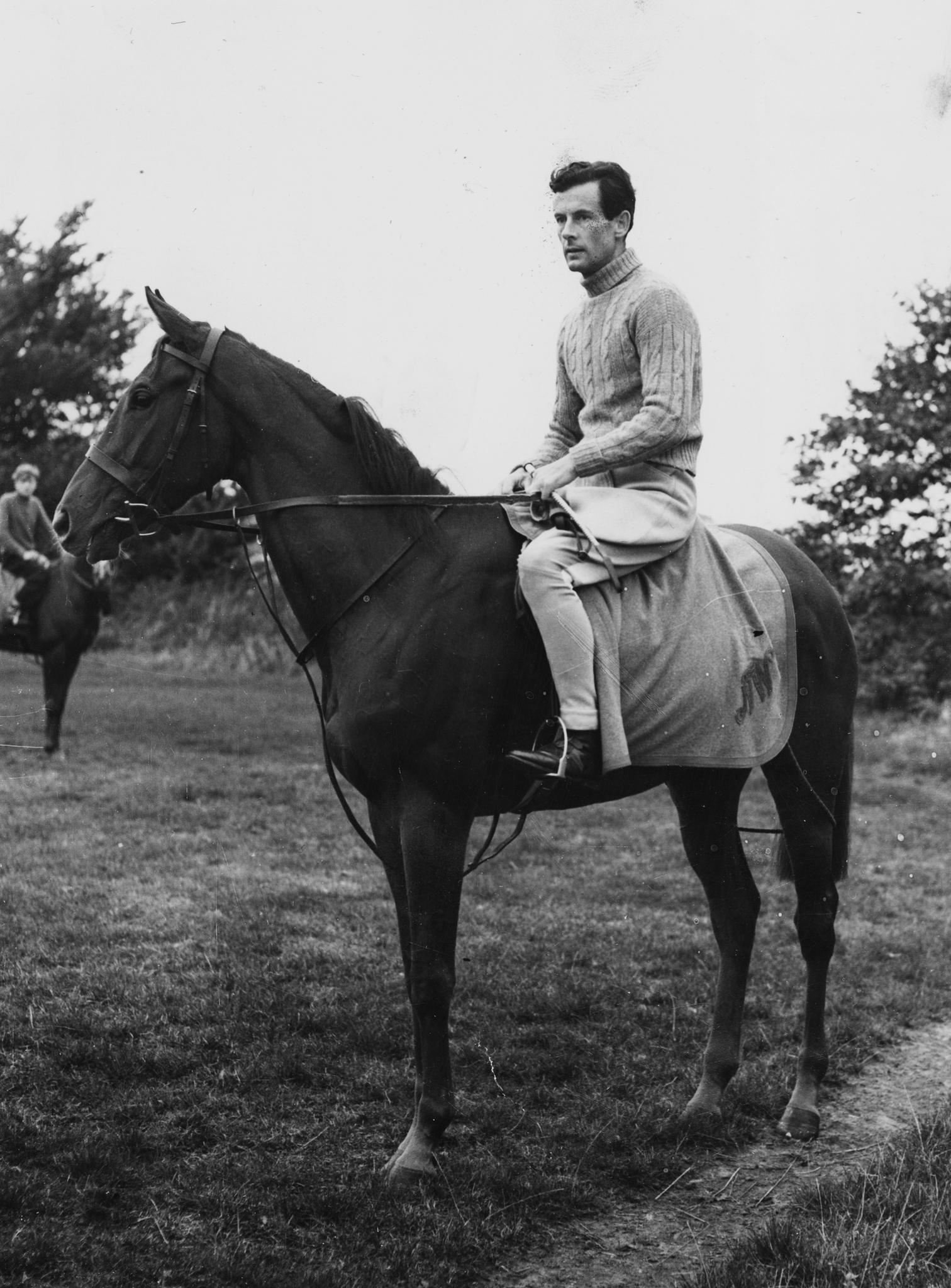 Prinzessin Margarets erste große Liebe: Peter Townsend. Hier am 15. Oktober 1955