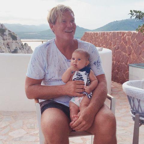 Stephan Jerkel und Tochter Josephine