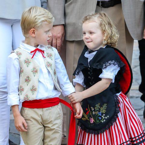 Jacques und Gabriella von Monaco