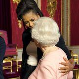 Michelle Obama, Queen Elizabeth