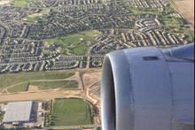 Herrlich: Mann macht Foto aus dem Flieger - später entdeckt er ein witziges Detail