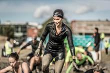 """Prinzessin Sofia beim """"Tough Viking"""" - einem Extrem-Hindernislauf"""