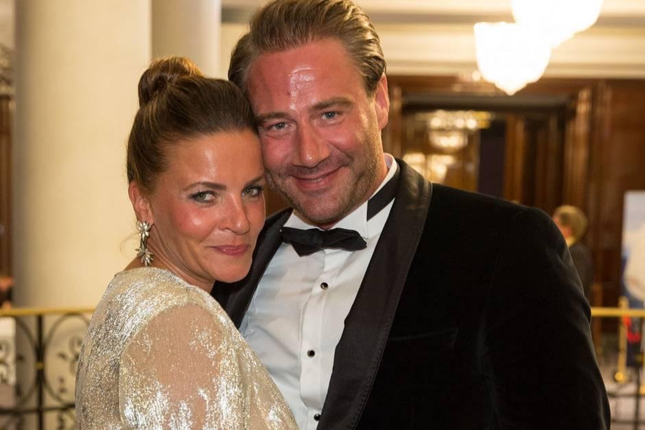 Sasha und seine Ehefrau Julia Röntgen