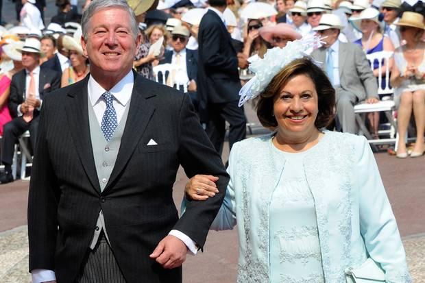 Prinz Alexander und Prinzessin Katherine aus Serbien