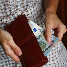 Auf einem Fünf-Euro-Schein versteckte sich eine rührende Botschaft