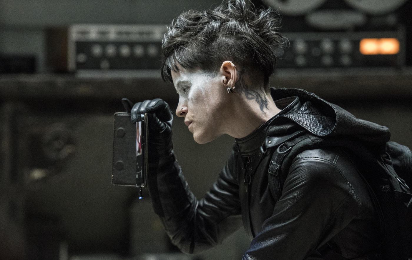Claire Foy in ihrer Rolle der Lisbeth Salander
