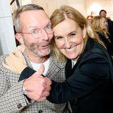 GALA Fashion Director Marcus Luft undPetra Fladenhofer,Head of Marketing &Communication KaDeWe, amüsierensich prächtig.
