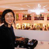 DJ IAMKIMKONG sorgtfür den passenden Beat und gute Laune.