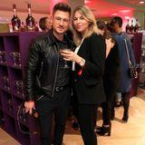 Blogger AndréHellmundt und seine FreundinAline Kaplan gönnten sich einen Drink an der Courvoisier Bar.