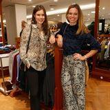 Auch die RTL-Nord Moderatorinnen Linda Mürtz und Susanne Böhm ließen sich das alljährliche Shopping-Ereignis im Alsterhaus nicht entgehen.