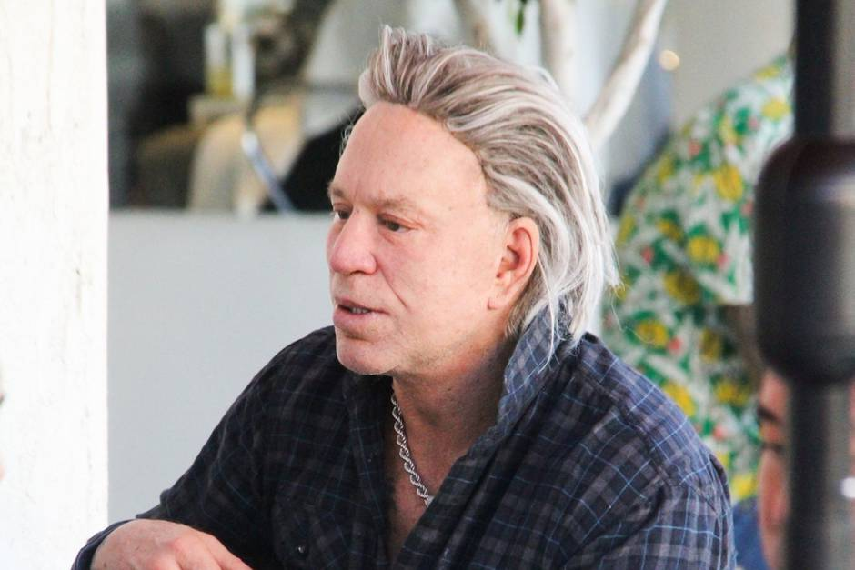 Mickey Rourke Real Lif...