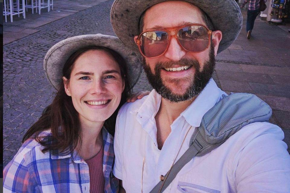 Amanda Knox und Christopher Robinson wollen den Bund der Ehe eingehen
