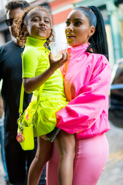 North West + Kim Kardashian