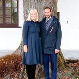 6. September 2018  PrinzessinMette-Marit und Prinz Haakon bei ihrer Provinzreise durch Vestfold.