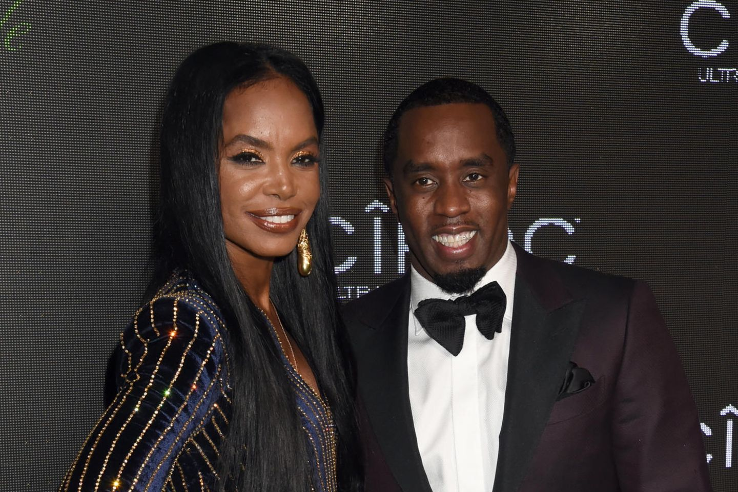 "Sean ""Diddy"" Combs und Kim Porter (†)"