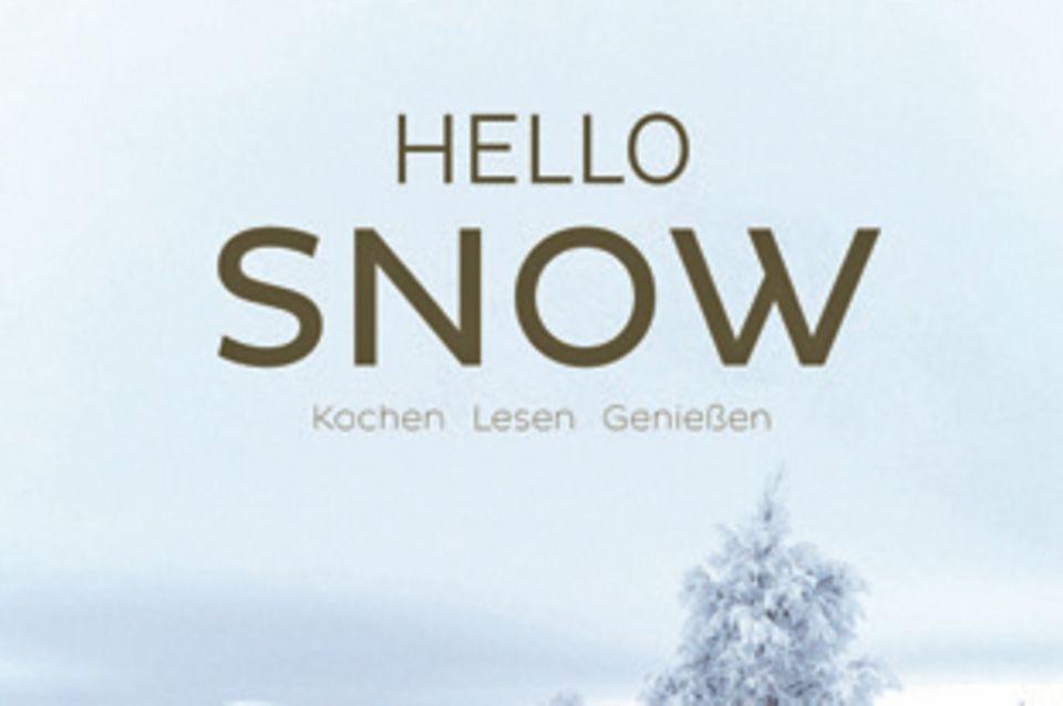 """In diesem Koch- und Coffeetable-Book wechseln sich stimmungsvolle Winterfotos, weihnachtliche Gedichte und Geschichten mit Rezepten für wärmende Eintöpfe, knusprige Plätzchen und Festtagsgerichte ab. (""""Hello Snow"""", Thorbecke Verlag, 168 S., 26 Euro)"""