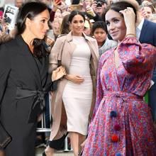 Umstandsmode an Herzogin Meghan: Das sind ihreroyalen Schwangerschaftslooks