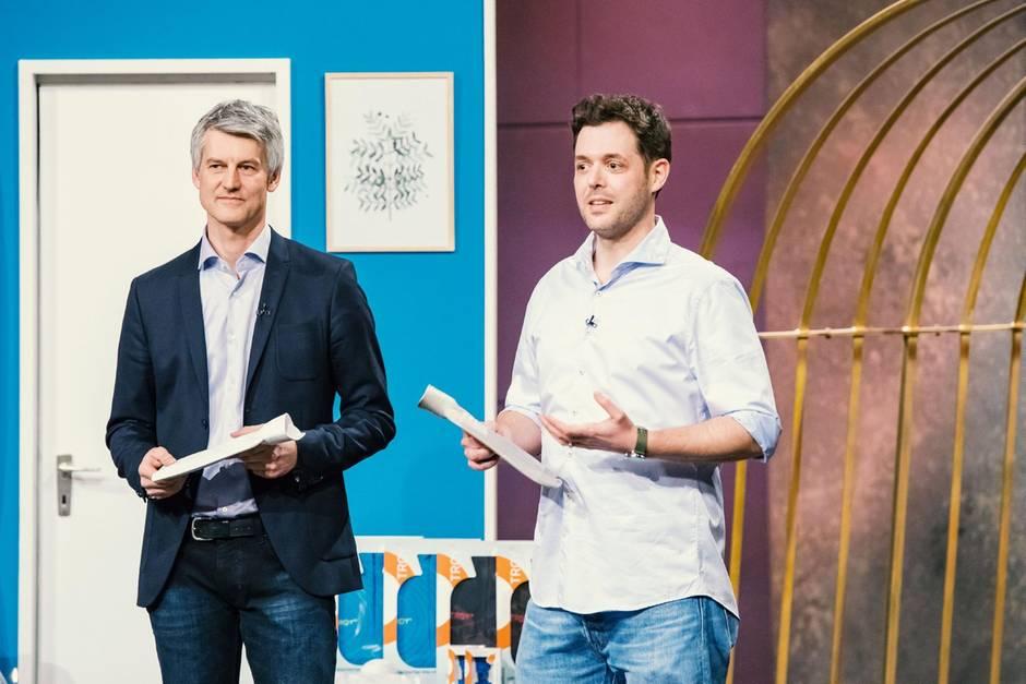 Volker Junior (l.) und Benjamin Ohmer