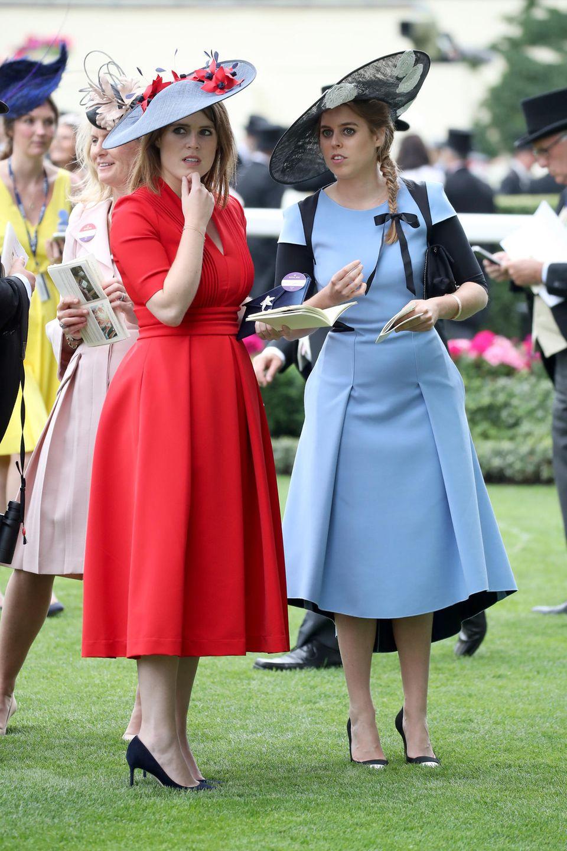 Prinzessin Eugenie + Prinzessin Beatrice