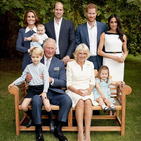 Prinz Louis auf dem Arm von Herzogin Kate