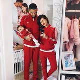 7. Februar 2018  Familie Harrison inperfekt abgestimmten Outfits.