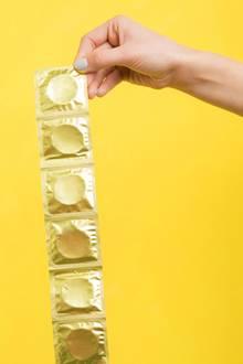 Das Kondom ist das einzige Verhütungsmittel, das vor Krankheiten schützt.