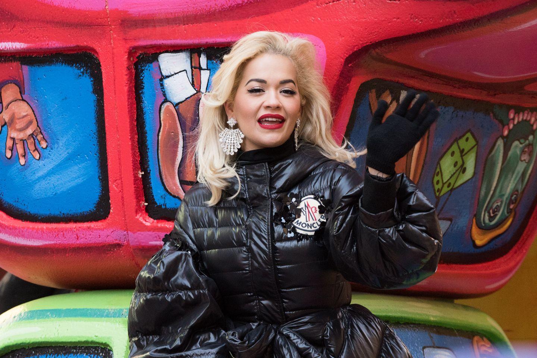 Rita Ora bei ihrem Auftritt in New York
