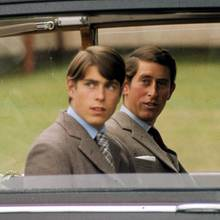 Prinz Andrew, Prinz Charles