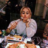 Yummie! Star-Bloggerin Caro Daur verbringt den Thanksgiving-Tag in Los Angeles und lässt sich den leckeren Truthahn so richtig schmecken.