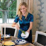 Dass Reese Witherspoon eine grandiose Köchin ist, sollte kein Geheimnis sein. Die Schauspielerin hat natürlich auch an Thanksgiving ein tolles Dinner für die ganze Familie angerichtet.