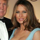 2007  Langsam aber sicher entdeckt Melania Trump jenen Look, den man noch zehn Jahre später von ihr kennen soll, für sich.