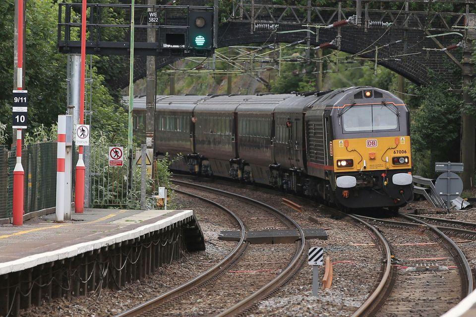 """Die Queen verreist seit 2015 vordergründig mit dem """"Royal-Train"""""""