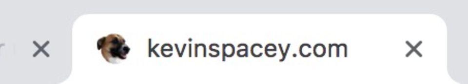Kevin Spacey Homepage