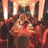 Priyanka Chopra und Nick Jonas feiern im großen Familienkreise.