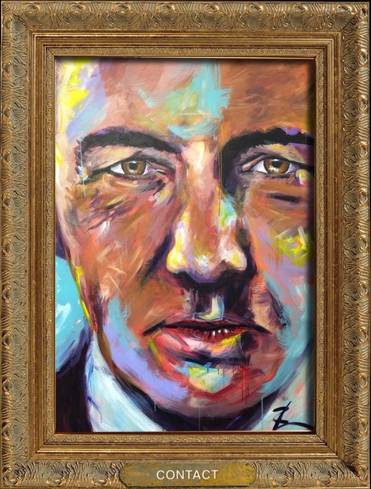 Kevin Spacey Gemälde
