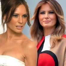 Melania Trump Beauty-Wandel