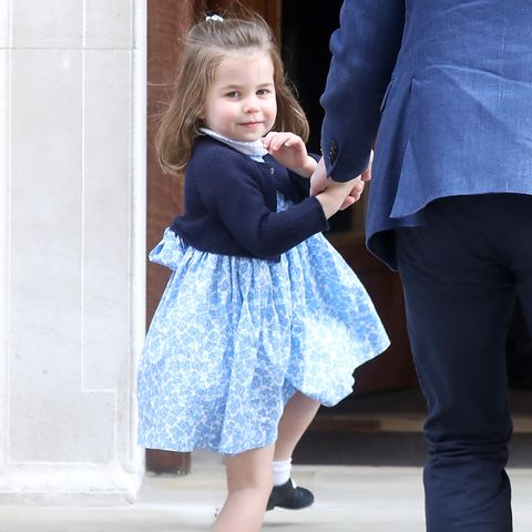 Prinzessin Charlotte im April 2018