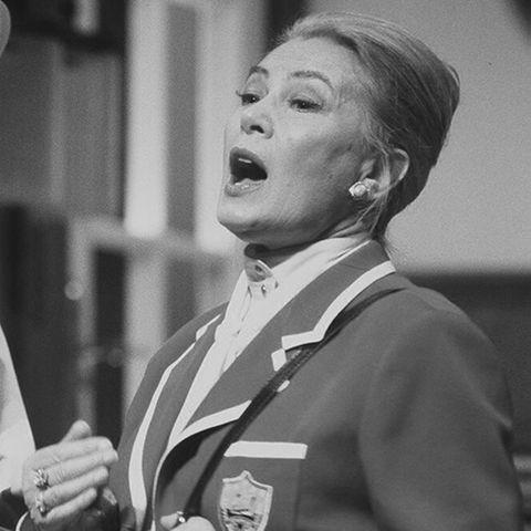 Eva Probst ist gestorben.