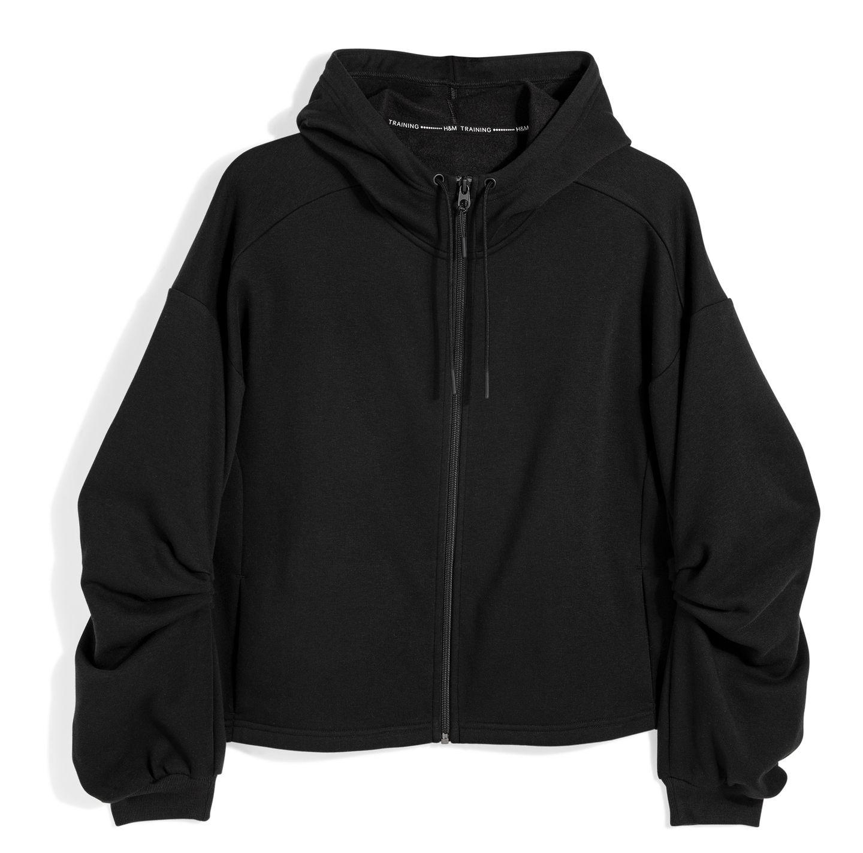 Kuschelig warm hält diese hübsche Jacke, die auch in der Freizeit zu jedem Outfit passt. Von H&M, ca. 30 Euro.