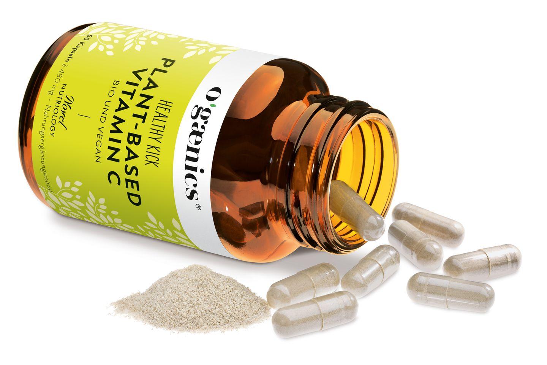Healthy Kapsel-Kick: Ogaenicssorgt - besonders nach dem Sport - für das Extra an wichtigen Nährstoffen, vor allem aber für natürliches Vitamin C, das wichtig für ein gesundes Immun- und Nervensystem ist. Von Ogaenics,30 Kapseln, ca. 27 Euro.