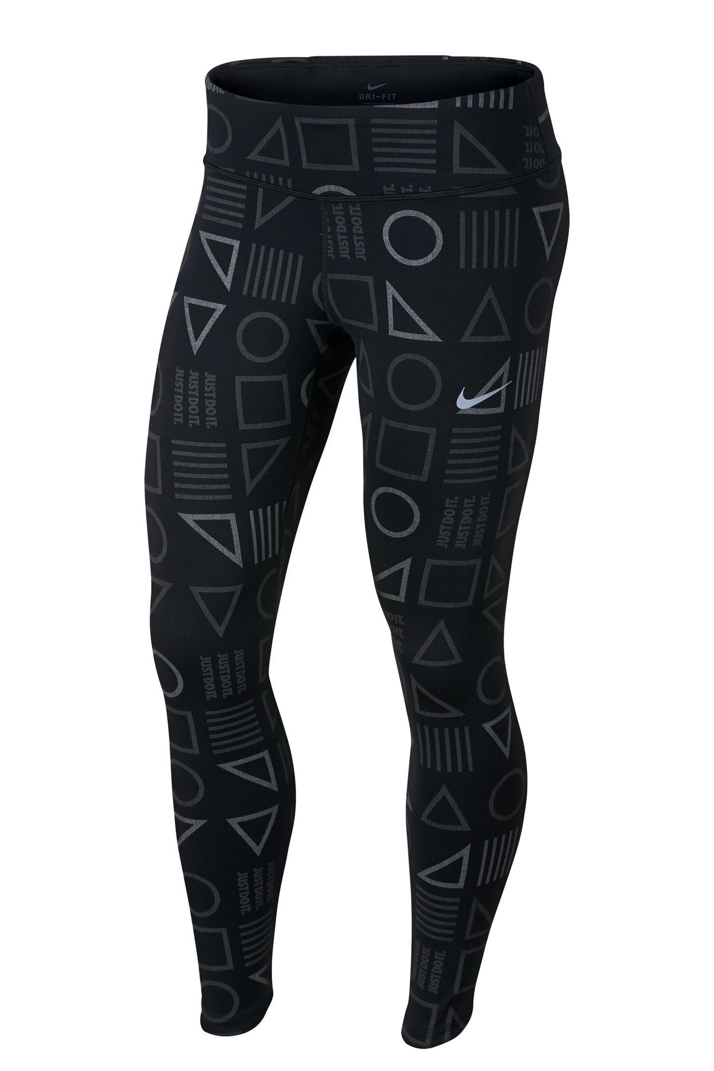 """Ob unifarben oder mit Mustern:Die """"Epic Lux""""-Tights ist der perfekte Begleiter beim Joggen.Von Nike, ca. 90 Euro."""