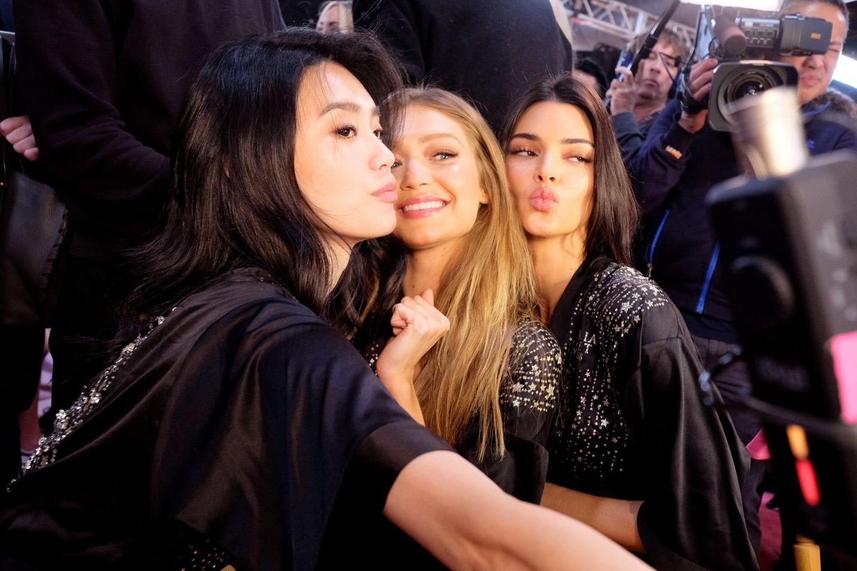Ming Xi, Gigi Hadid und Bella Hadid